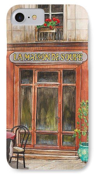 French Storefront 1 IPhone Case by Debbie DeWitt