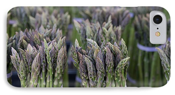 Fresh Asparagus IPhone 7 Case by Mike  Dawson