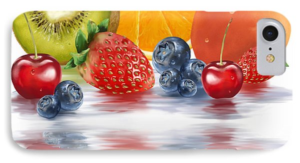 Fresh Fruits IPhone Case by Veronica Minozzi