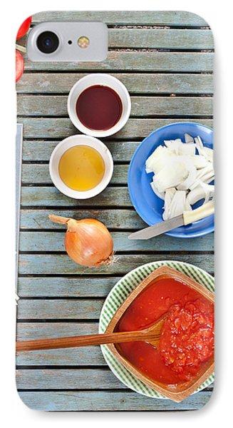 Fresh Ingredients IPhone Case by Tom Gowanlock