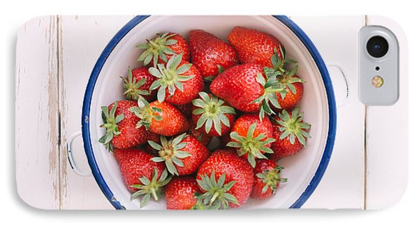 Fresh Strawberries  IPhone Case by Viktor Pravdica