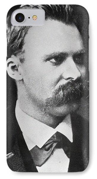 Friedrich Wilhelm Nietzsche Phone Case by French Photographer