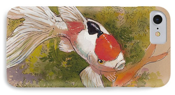 Friendly Fantail IPhone Case by Tracie Thompson