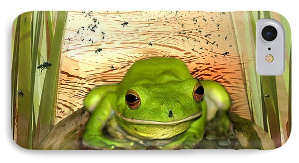 Froggy Heaven Phone Case by Holly Kempe