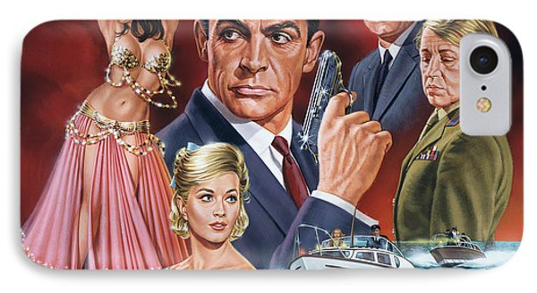 From Russia With Love IPhone Case by Dick Bobnick