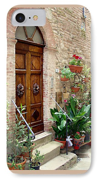 Front Door IPhone Case by Ellen Henneke