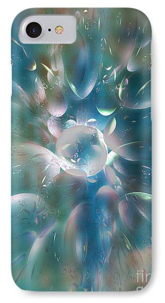 Frostwork Phone Case by Klara Acel