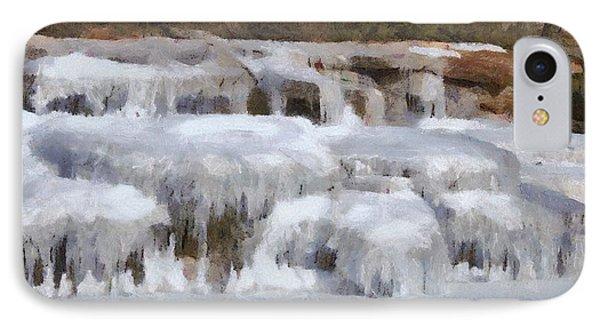 Frozen Falls Phone Case by Jeff Kolker