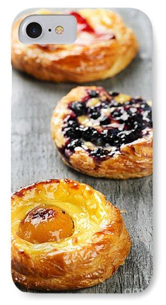 Fruit Danishes IPhone Case by Elena Elisseeva