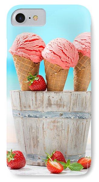 Fruit Ice Cream IPhone Case by Amanda Elwell