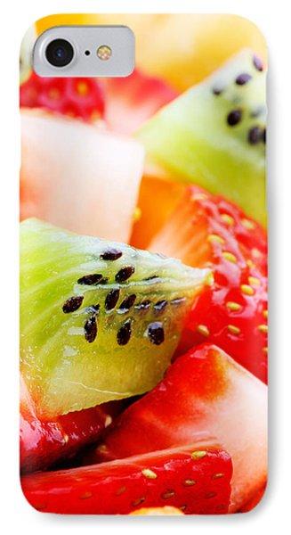Fruit Salad Macro IPhone Case by Johan Swanepoel