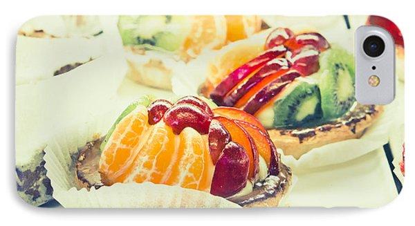 Fruit Tarts IPhone Case by Tom Gowanlock