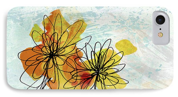 Fun Flowers  Phone Case by Ann Powell