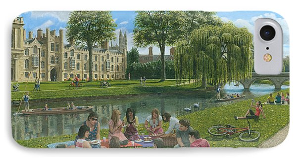 Fun On The River Cam Cambridge IPhone Case by Richard Harpum
