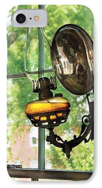 Furniture - Lamp - An Oil Lantern Phone Case by Mike Savad