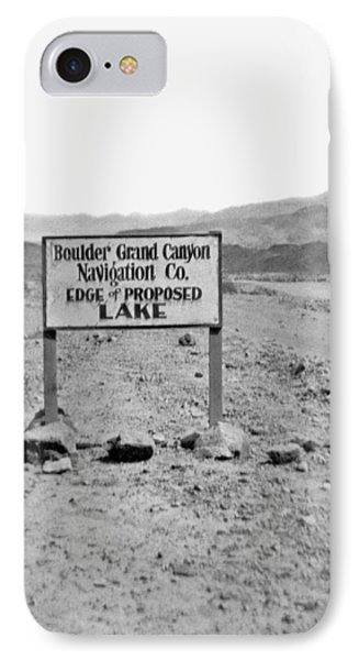 Future Edge Of Lake Meade IPhone Case by Underwood Archives