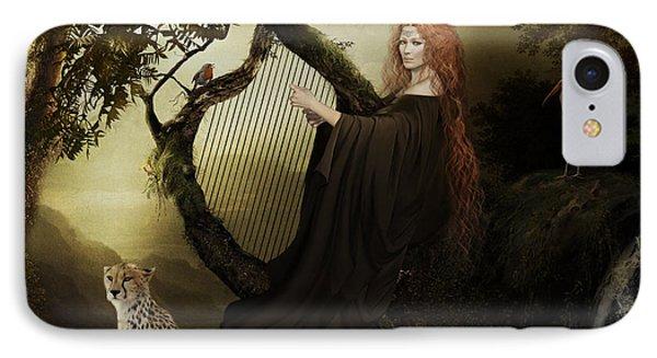 Gaia Greek Goddess IPhone Case by Shanina Conway