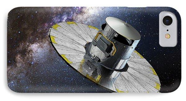 Gaia Space Probe IPhone Case by European Space Agency/d. Ducros