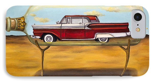 Galaxie In A Bottle Phone Case by Leah Saulnier The Painting Maniac