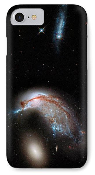 Galaxies Interacting IPhone Case by Nasa/esa/hubble Heritage Team/stsci/aura