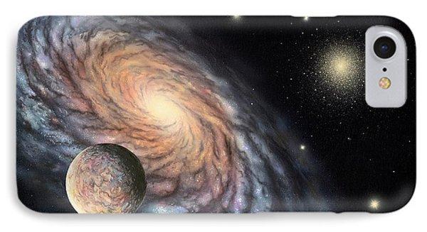 Galaxy IPhone Case by Richard Bizley