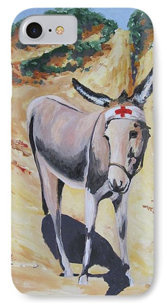 Gallipoli Donkey Phone Case by Leonie Bell