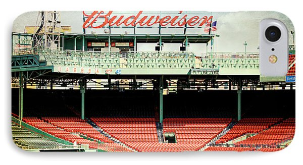 Gameday Ready At Fenway IPhone Case by Stephen Stookey