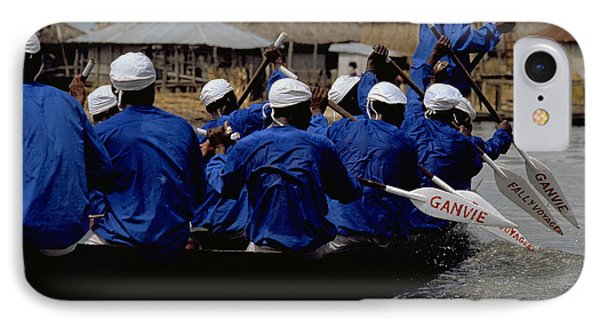 IPhone Case featuring the photograph Ganvie - Lake Nokoue by Travel Pics