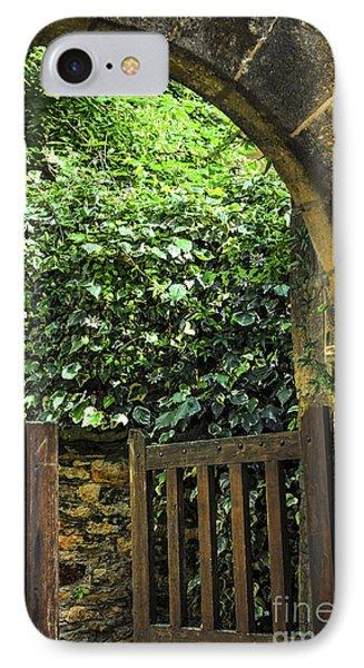 Garden Gate In Sarlat Phone Case by Elena Elisseeva