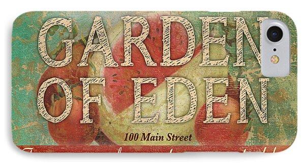Garden Of Eden IPhone Case by Marilu Windvand