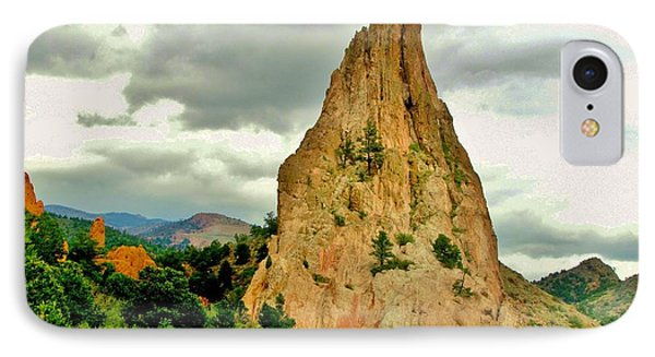 Garden Of The Gods IPhone Case by Marilyn Smith