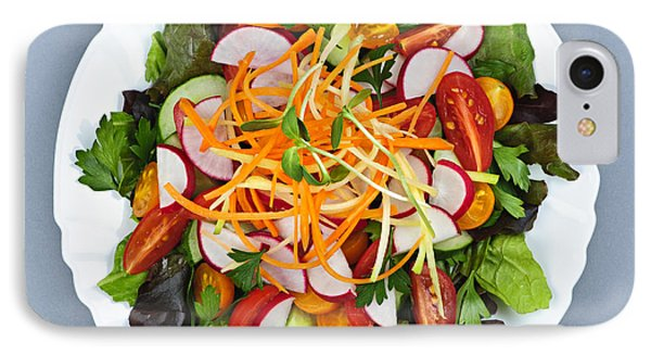 Garden Salad IPhone 7 Case by Elena Elisseeva