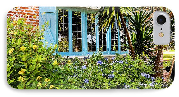 Garden Window Db Phone Case by Rich Franco