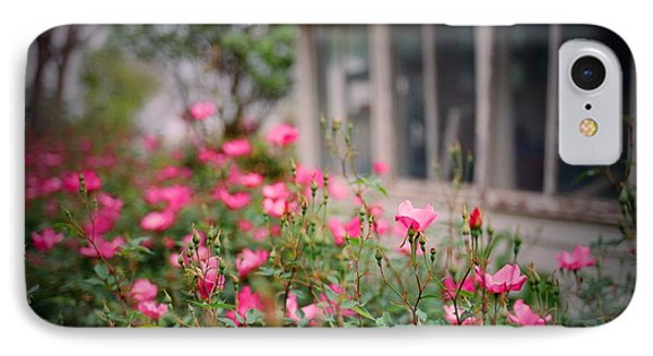 Gardens Of Pink Phone Case by Linda Unger