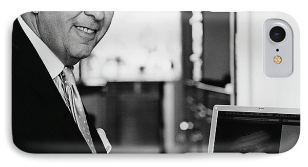 Garry Hunt IPhone Case by Lucinda Douglas-menzies
