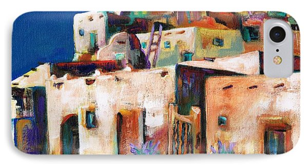 Gateway Into  The  Pueblo IPhone 7 Case by Frances Marino