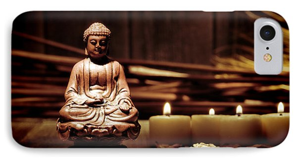Gautama Buddha Phone Case by Olivier Le Queinec