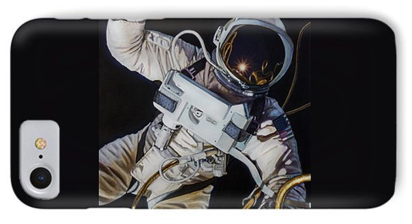 Gemini Iv- Ed White IPhone Case by Simon Kregar