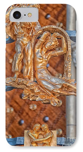 Gemini Zodiac Sign - St Vitus Cathedral - Prague IPhone Case by Ian Monk
