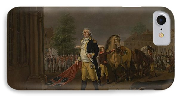 General Humphreys Delivering IPhone Case by Nicolas Louis Albert Delerive