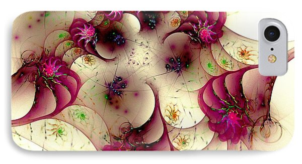 Gentle Pink Phone Case by Anastasiya Malakhova