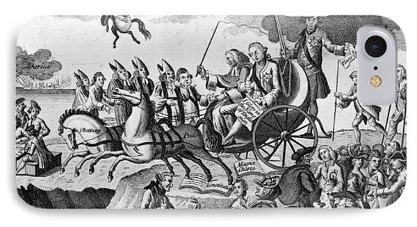 George IIi Cartoon, 1775 IPhone Case by Granger