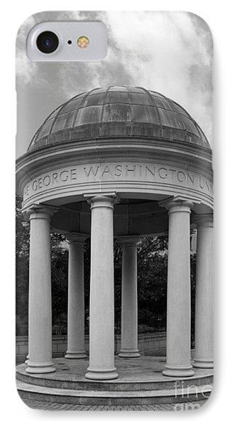 George Washington University Kogan Plaza IPhone Case by University Icons