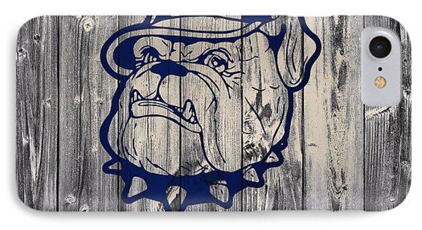 Georgetown Hoyas Barn IPhone Case by Dan Sproul