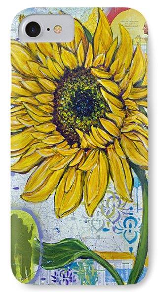 Georgia Sunflower Phone Case by Random Act aka Andrea LaHue