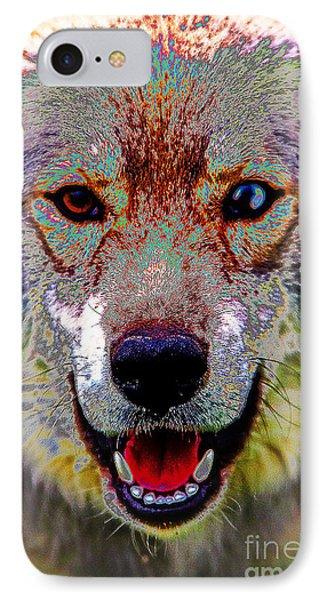 German Shepard - Siberian Husky IPhone Case by Doc Braham