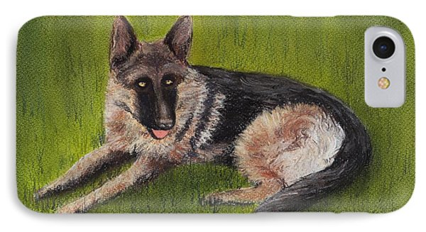 German Shepherd IPhone Case by Anastasiya Malakhova
