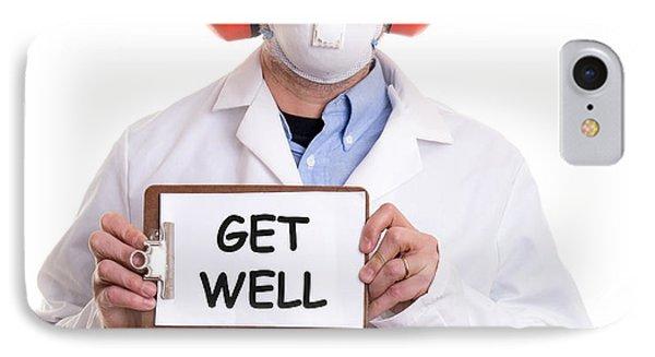 Get Well IPhone Case by Edward Fielding
