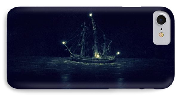 Ghost Ship Phone Case by Laurie Perry