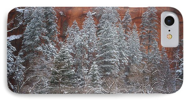 Ghosts Of Winter IPhone Case by Peter Coskun